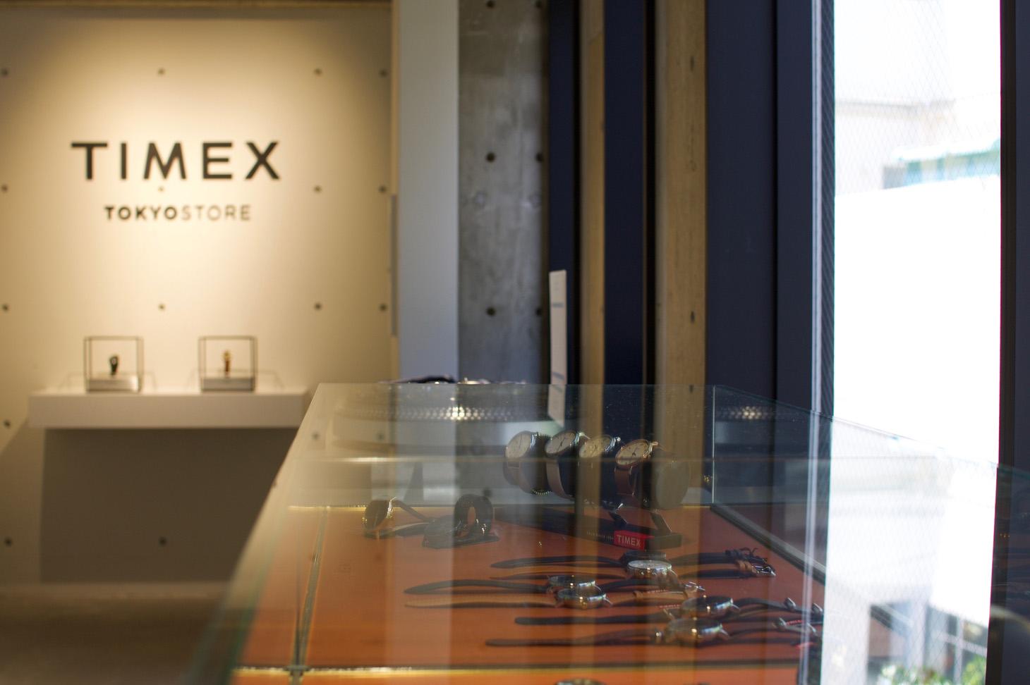 TIMEX TOKYO - 1Fのショッピングスペース