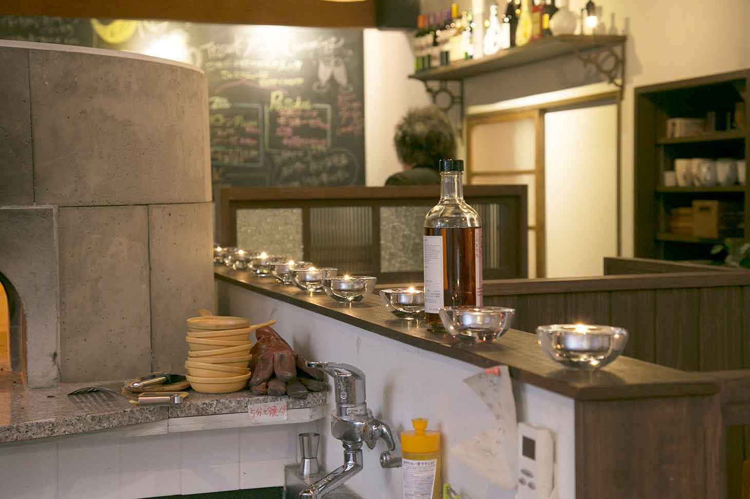 cafe & dining bar WATAGE 内観
